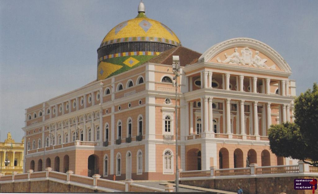 Celebrity gossips and images: Manaus Opera House