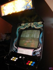 Modded Double Dragon Cabinet